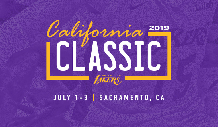 47082151c9d Lakers to Tip Off Summer at California Classic
