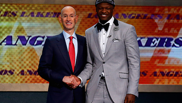 Julius Randle Draft Day Photo Gallery