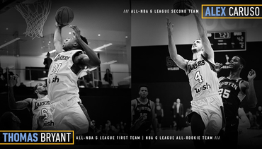 Bryant & Caruso Earn All-NBA G League Team Honors