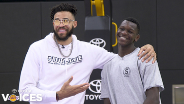 Lakers Voices: JaVale McGee & Isaac Bonga (4/15/19)