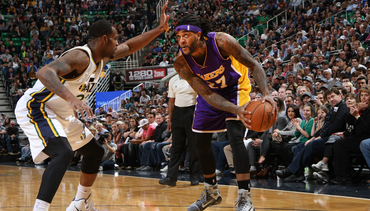 Photos: Lakers at jazz