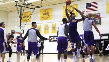 Second Day of Training Camp - Photo Gallery