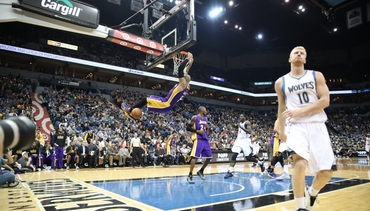 Gameday: Lakers 100, Wolves 94