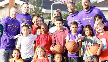 South Bay Lakers Adopt Edison Elementary, Beginning Yearlong Relationship