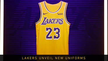 Lakers Unveil New Uniforms