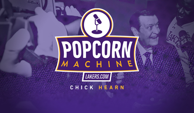 9c6f9991c Popcorn Machine  Chick Hearn s 100th Birthday Tribute