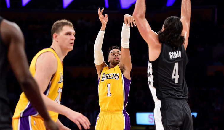 D'Angelo Russell vs. Brooklyn