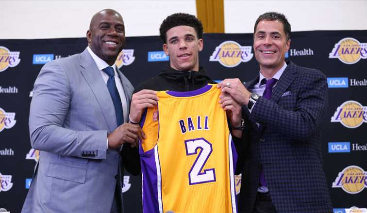 Lakers Expect Ball to Elevate New Teammates  3392e531b