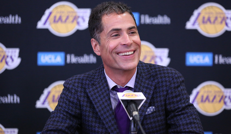 Draft Evaluation and Offseason Outlook With Rob Pelinka   Los Angeles Lakers