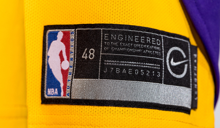 a2c032562e0 NikeConnect to Enhance Fan Experience With New Lakers Jerseys