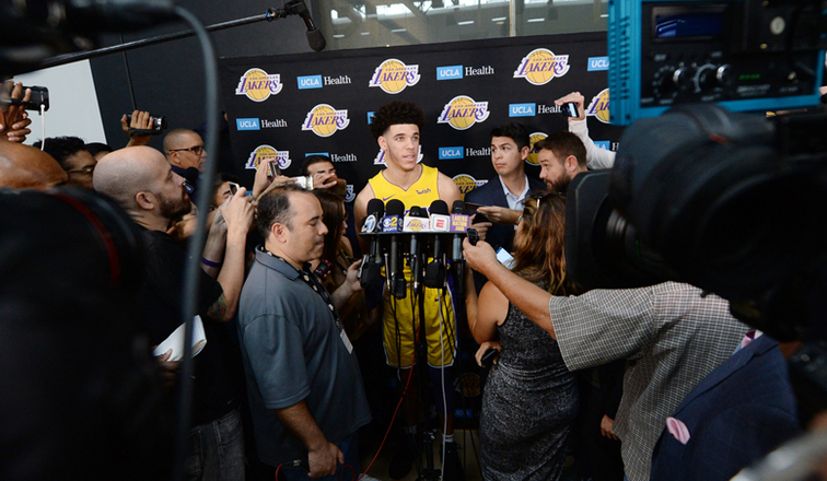 Will Lonzo or LaVar Ball be the bigger storyline this season?