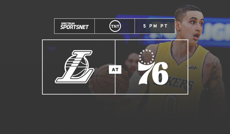 Lakers-Sixers Game Day
