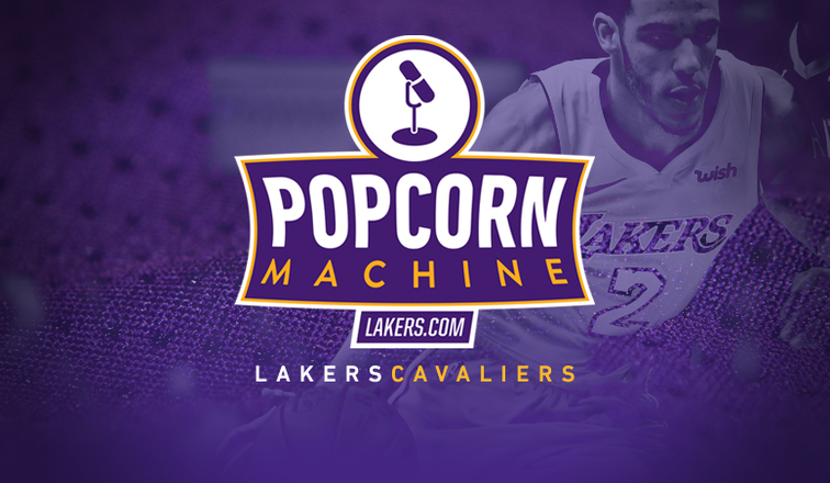Popcorn Machine Lakers Cavaliers