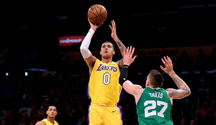 Kuzma Torches Celtics in Last-Second Win | Los Angeles Lakers