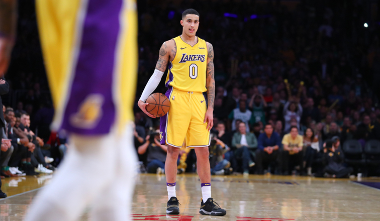 Kuzma gets 28, leads Lakers past Celtics