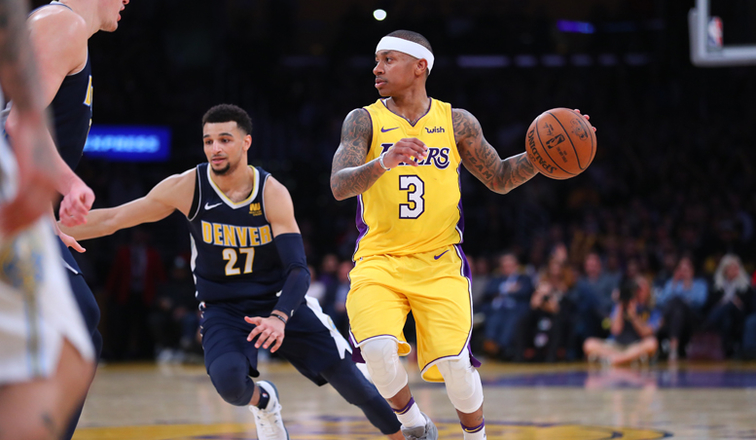 Lakers Retaliate With Comeback Win Over Nuggets