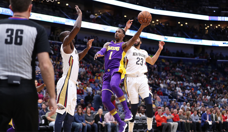 Lakers Come Up Short in High-Scoring Affair