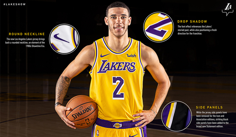 b3dabb2bfb6 Lakers Unveil New Uniforms for 2018-19 Season | Los Angeles Lakers