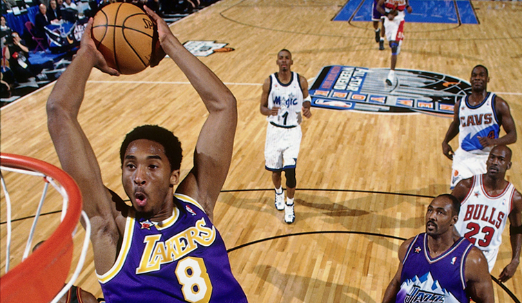 Lakers History Kobes High-Flying All-Star Debut  Los Angeles