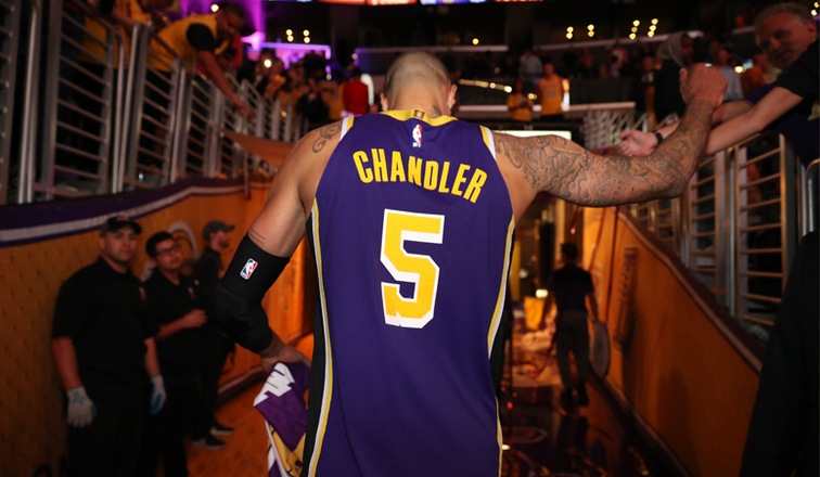 a5356260ca5 Tyson Chandler: From Farm Life to the Lake Show | Los Angeles Lakers