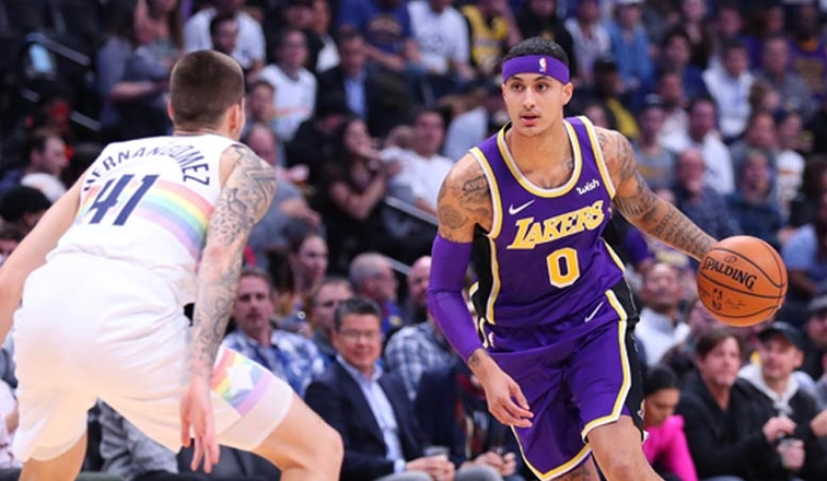 3 point line barren for lakers in loss to denver los angeles lakers