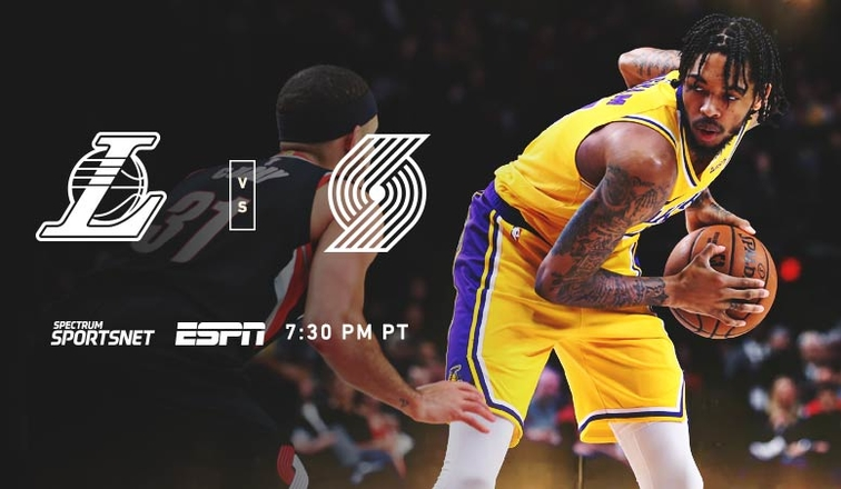 Lakers-Blazers Game Day