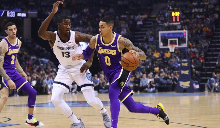 e840a3c5e90c Lakers Dominate All Phases in Big Road Win Over Memphis