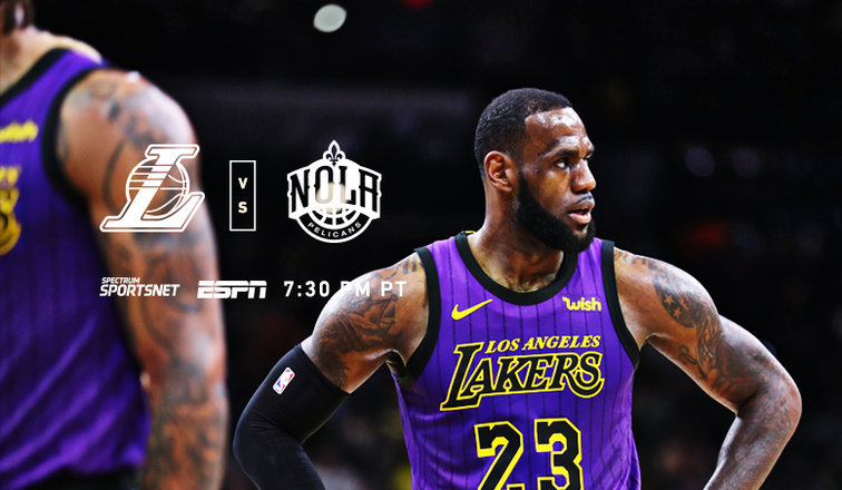 d07bb1511685 Lakers vs. Pelicans  3 Things to Know (12 21 18)