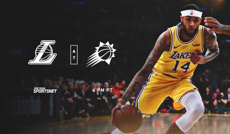 Lakers-Suns Game Day