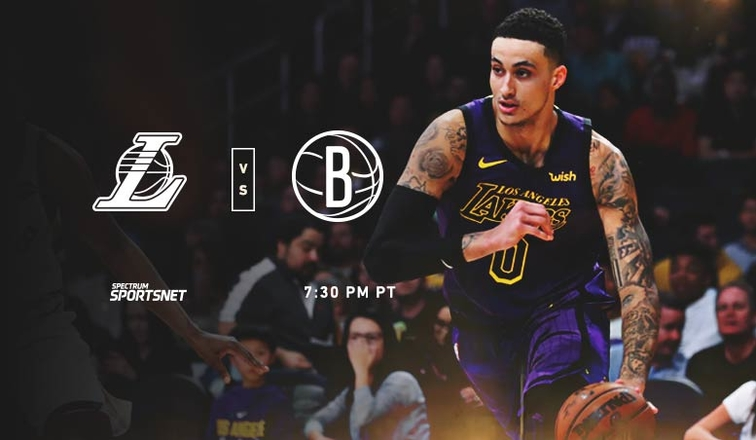 Lakers-Nets Game Day