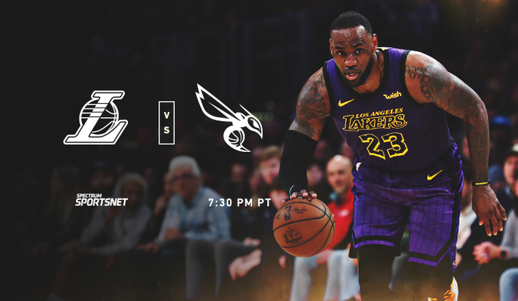 9ac4490ab00 Lakers vs. Hornets  3 Things to Know (3 29 19)