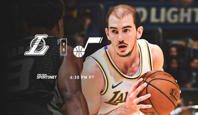 Lakers-Jazz Game Day
