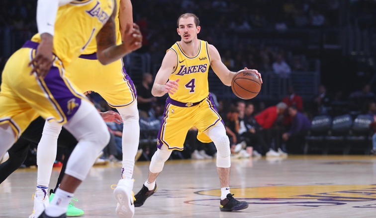 Alex Caruso vs. Portland