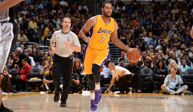 Xavier Henry suffers an injury
