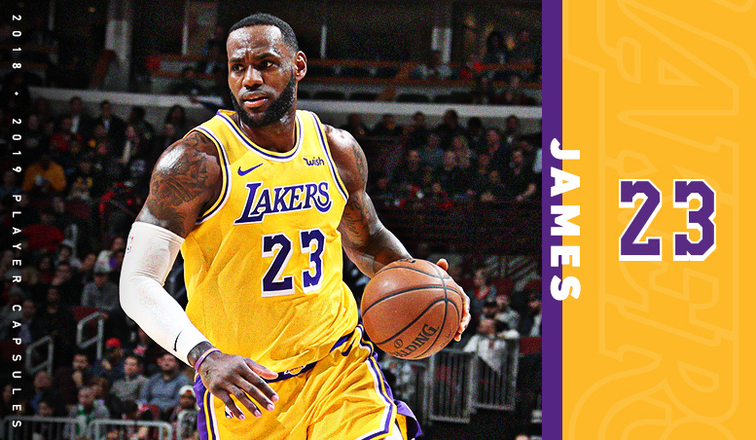 90563f3b 2019 Player Capsule: LeBron James | Los Angeles Lakers