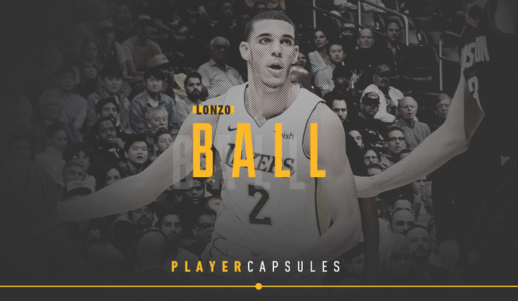 Lonzo Ball Player Capsule