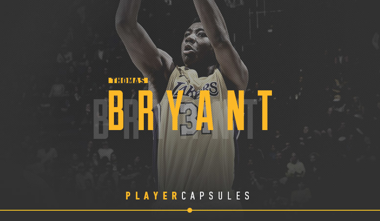 Thomas Bryant Player Capsule