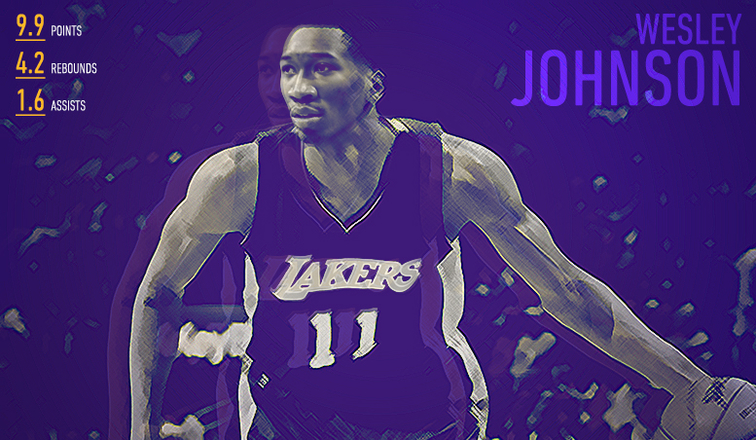 Wesley Johnson Player Capsule