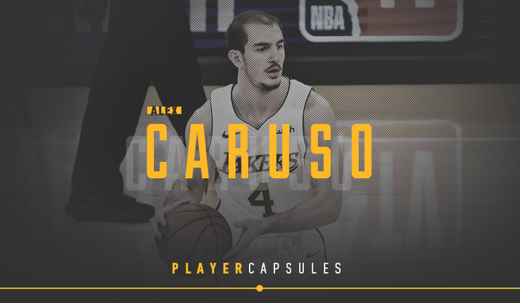 Alex Caruso Player Capsule