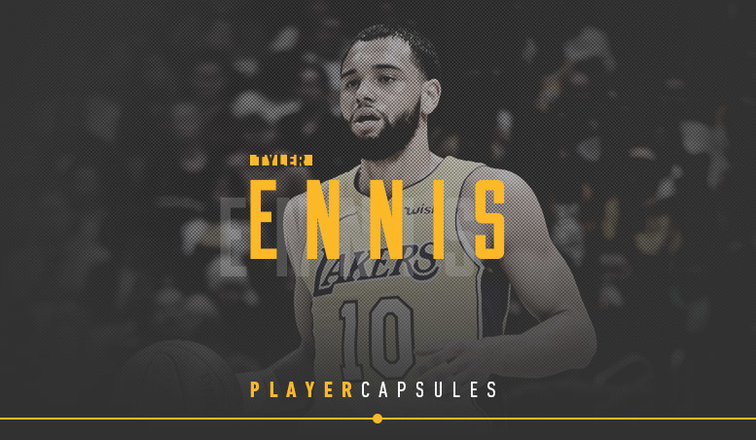 Tyler Ennis Player Capsule