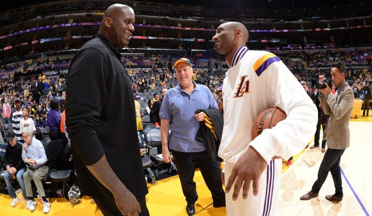 3d77e95120ae Kobe and Shaq Reflect on Playing Days