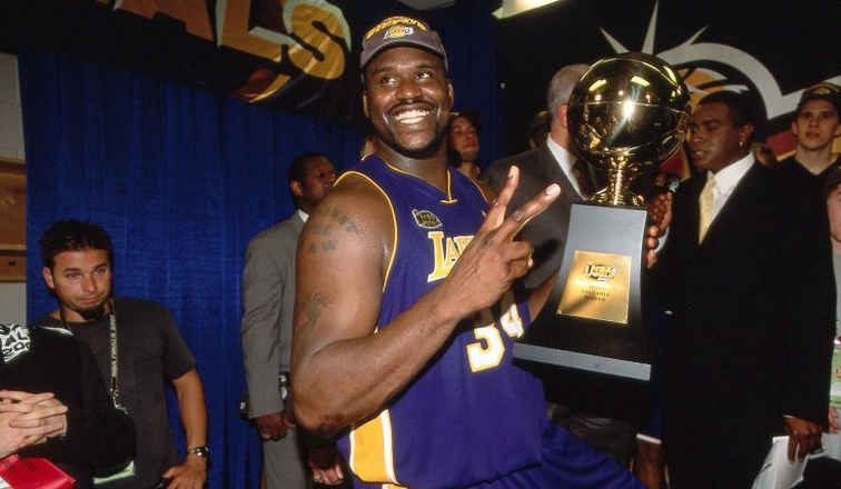 740d7b5cac9 Shaquille O'Neal's Top Playoff Moments | Los Angeles Lakers