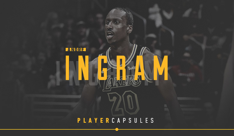 Andre Ingram Player Capsule