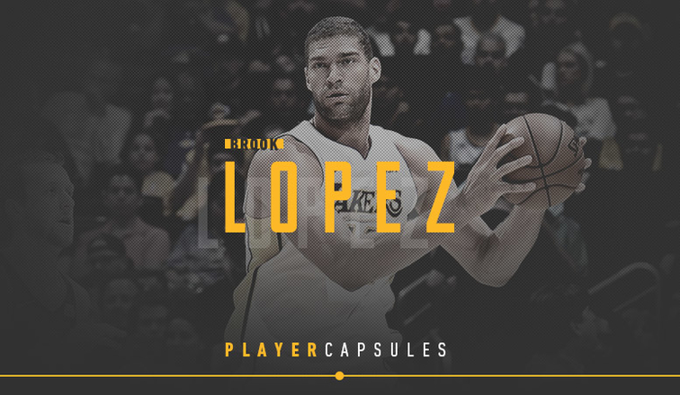 Brook Lopez Player Capsule