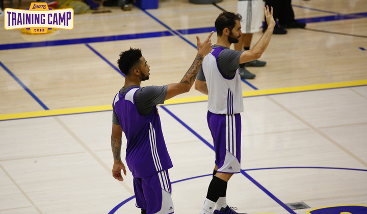 Lakers 2016 Training Camp: Sunday