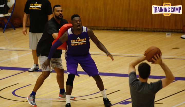 Lakers 2016 Training Camp: Thursday