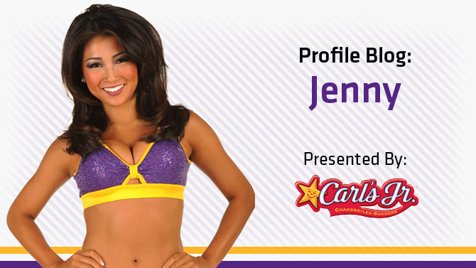 Jenny's Laker Girls Blog