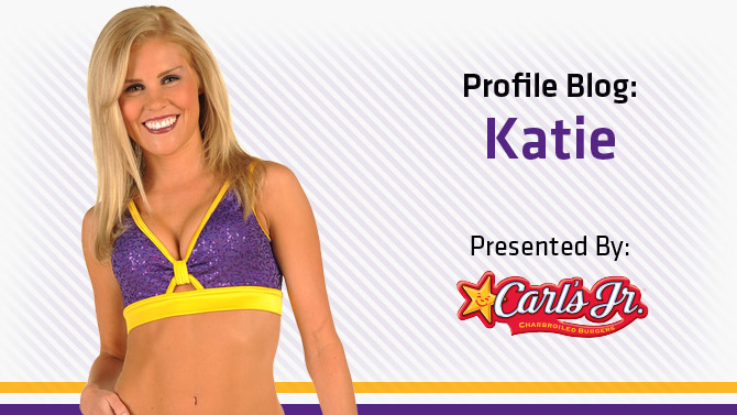 Laker Girl Katie's Blog