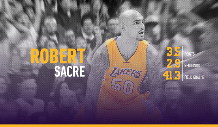 Robert Sacre 2015-16 Player Capsule