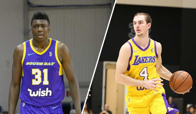 ee4229a39ab Thomas Bryant and Alex Caruso Named to Midseason All-NBA G League Team.  Official Lakers Release